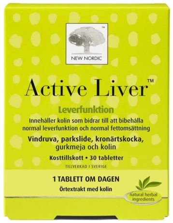 New Nordic Active Liver, Hälsa - New Nordic
