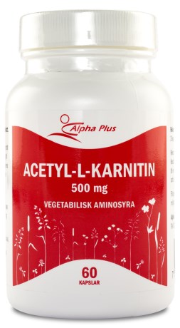 Alpha Plus Acetyl-L-karnitin , Viktminskning - Alpha Plus
