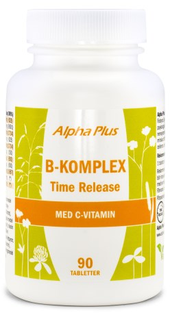 Alpha Plus B-komplex Time Release - Alpha Plus