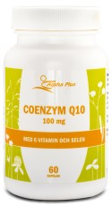 Alpha Plus CoQ10 m E-vitamin & Selen
