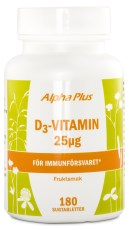 Alpha Plus D3-Vitamin 25 mcg