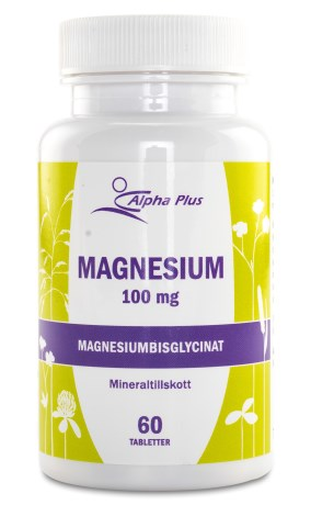 Alpha Plus Magnesium, Hälsa - Alpha Plus
