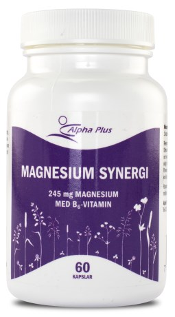 Alpha Plus Magnesium Synergi, Hälsa - Alpha Plus