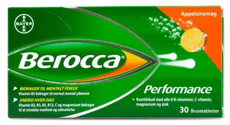 Berocca Performance,  - Bayer HealthCare