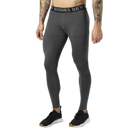Better Bodies Mens Logo Tights - Better Bodies