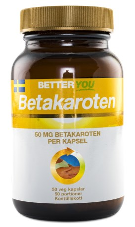 Better You Betakaroten, Hälsa - Better You