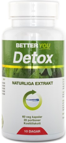 Better You Detox, Viktminskning - Better You