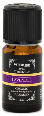 Better You Eterisk Lavendelolja EKO, Naturliga Oljor - Better You
