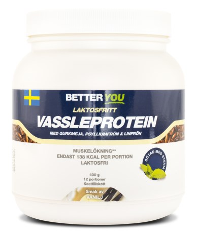 Better You Laktosfritt Vassleprotein, Livsmedel - Better You