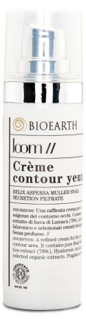 Bioearth Loom Creme Contour des Yeux - Bioearth