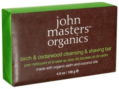 John Masters Organics Birch & Cedarwood Shaving Bar