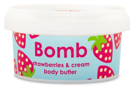 Bomb Cosmetics Body Butter Strawberries & Cream - Bomb Cosmetics