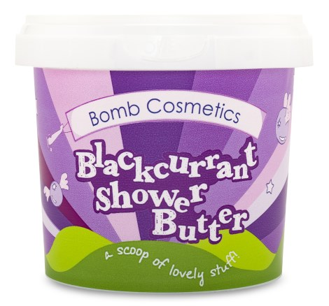 Bomb Cosmetics Shower Butter Blackcurrant - Bomb Cosmetics