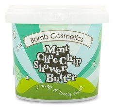 Bomb Cosmetics Shower Butter Mint Choc Chip