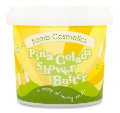 Bomb Cosmetics Shower Butter Pina Colada