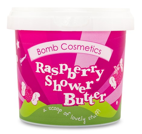Bomb Cosmetics Shower Butter Raspberry - Bomb Cosmetics