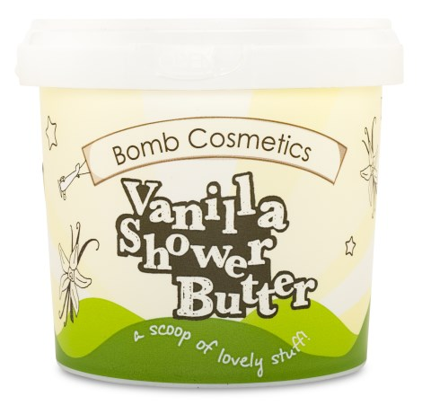 Bomb Cosmetics Shower Butter Vanilla - Bomb Cosmetics