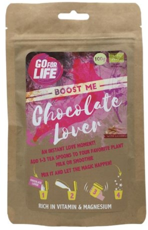 Go for Life Boost me Chocolate Lover, Livsmedel - Go for Life