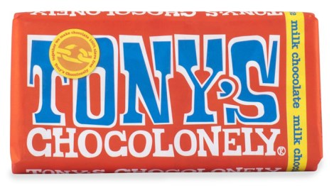 Tonys Chocolonely Milk Chocolate, Livsmedel - Tonys Chocolonely