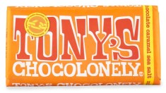 Tonys Chocolonely Milk Chocolate Caramel Sea Salt