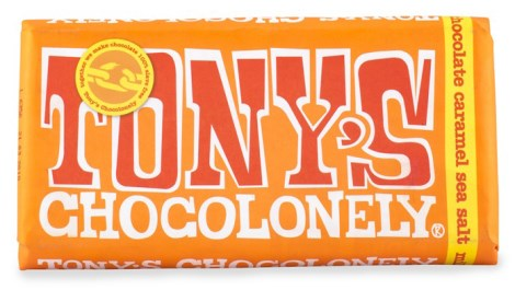 Tonys Chocolonely Milk Chocolate Caramel Sea Salt, Livsmedel - Tonys Chocolonely