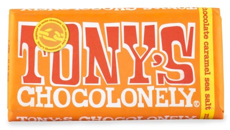 Tonys Chocolonely Milk Chocolate Caramel Sea Salt - Tonys Chocolonely