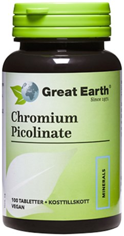 Great Earth Chromium Picolinate, Viktminskning - Great Earth