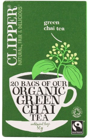 Clipper Green Chai Tea, Livsmedel - Clipper