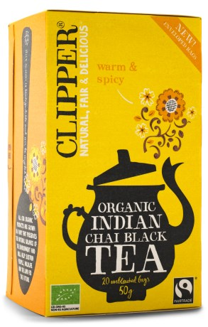 Clipper Tea Indian Chai, Livsmedel - Clipper