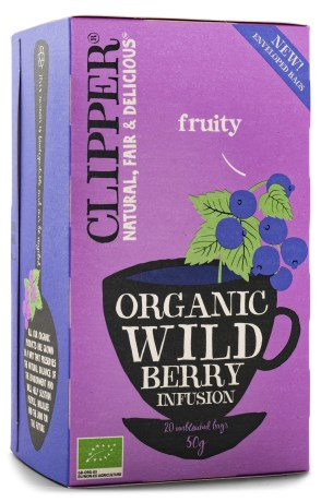 Clipper Tea Wild Berry EKO, Livsmedel - Clipper