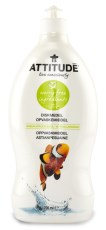 Attitude Diskmedel Green Apple & Basil EKO