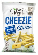 Eat Real Cheezie Straws