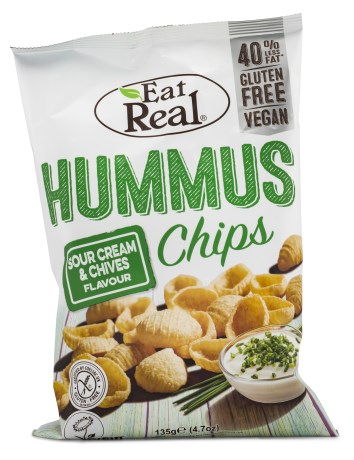 Eat Real Hummus Chips, Livsmedel - Eat Real