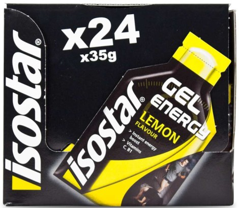 Isostar Energy Gel Lemon - Isostar