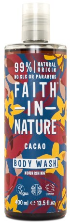Faith in Nature Chocolate Shower Gel - Faith in Nature