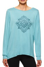 GAIAM Hailey LS Graphic Tonal Mandala