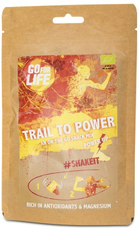 Go for Life Boost me Trail to Power, Livsmedel - Go for Life