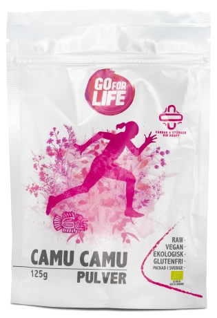 Go for Life Camu Camupulver EKO, Livsmedel - Go for Life