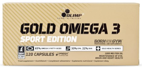 Olimp Gold Omega-3 Sport Edition - Olimp
