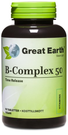 Great Earth B-Complex 50 mg - Great Earth