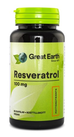 Great Earth Resveratrol 100 mg - Great Earth