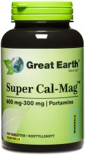 Great Earth Super Cal-Mag Tabletter
