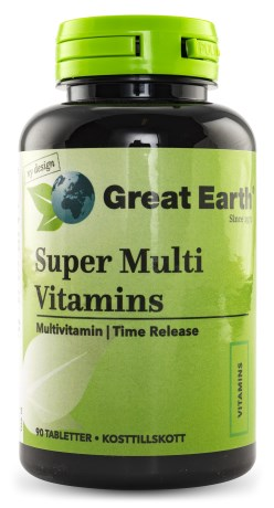 Great Earth Super Multi Vitamins, Hälsa - Great Earth