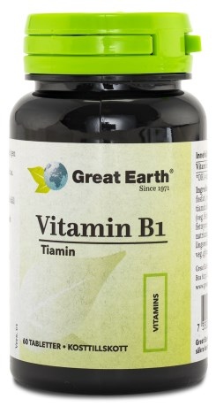 Great Earth Vitamin B1 - Great Earth