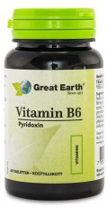 Great Earth Vitamin B6