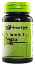 Great Earth Vitamin D3 Vegan