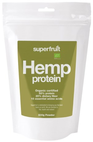 Superfruit Hampaprotein, Hälsa - Superfruit