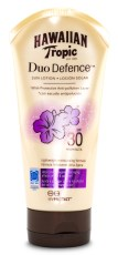 Hawaiian Tropic DuoDefence Sun Lotion SPF 30