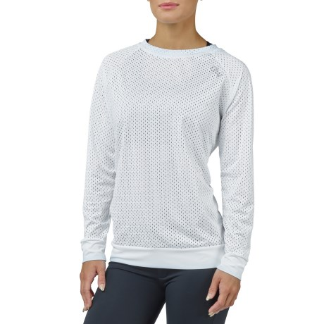 ICANIWILL Long Sleeve Mesh Wmn - ICANIWILL
