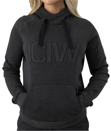 ICIW Hoodie 3D Wmn - ICANIWILL